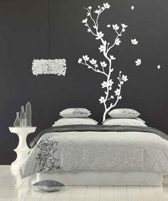 Minimalistic Bedroom Wall art sticker