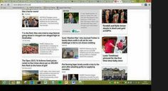 Pretty surreal seeing yourself on the Daily Record homepage #ochwedding #spreadthelove