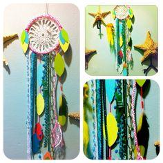 #dreamcatcher #mermaid #tropical #rachaelrice #ocean #starfish