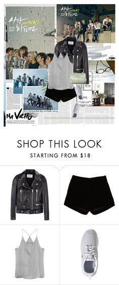 """30 Day K-Pop Challenge ; DAY 01. FAVORITE KPOP GUY GROUP"" by blue-park ❤ liked on Polyvore featuring Acne Studios, Andrew Gn, NIKE, Givenchy and GOT7"