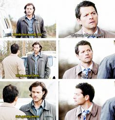 [gifset] 10x17 Inside Man #SPN #Sam #Castiel Sam is so worried about his brother, I LOVE THIS SHOW