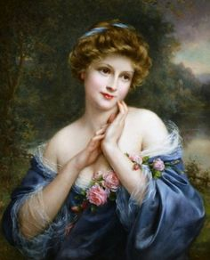 A SUMMER ROSE, BY FRANCOIS MARTIN KAVEL