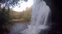Schoolhouse Falls in Panthertown Valley, NC - GoPro