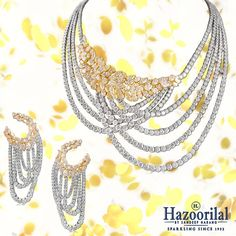 'Every season has it's own story and so does every piece of jewellery' Explore the wealth of unconventional designs and combinations only from the House of #HazoorilalBySandeepNarang #DiamondStrings #HighJewelry #FineJewelry #YellowDiamonds #CelebratingSummers #CampaignYellow #Hazoorilal