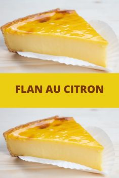 Flan au citron toutes recettes citron desserts flan unique wedding cake designs the chicest and most modern ideas Sponge Cake Recipes, Homemade Cake Recipes, Flan Dessert, Dessert Recipes, Mince Pies, Beef Pies, Flaky Pastry, Cake Recipes From Scratch, Snacks