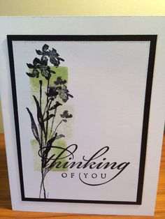 Simple Stampin Up! card. Art of Life. Erin Dallyn