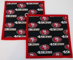 NLF San Francisco 49ers Pot HoldersSet of 29 X by PizazzCreations, $10.00