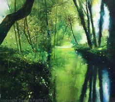 'Rescued' watercolour David Parfitt RI www.davidparfitt-art.co.uk
