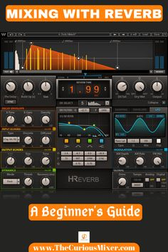 This article will teach you how to apply reverb to your tracks. It's an essential guide for beginners looking to learn to properly create depth, space, and cohesion in their songs. Music Recording Studio, Music Studio Room, New Electronic Gadgets, Electronic Music, Music Theory Guitar, Digital Audio Workstation, Music Software, Music Writing, Cool Electronics