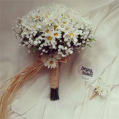 Papatya Gelin Çiçeği Set