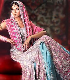 D3118 Pakistani bridal wears, wedding dresses by Top designers of latest pakistan fashion online shopping Bridal Wear