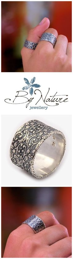 This unique collection reflects the beauty of nature in each creative and timeless piece. Whether it be worn as a thumb ring or on any other finger it will make you feel no less than chic.