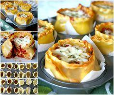Muffin Tin Lasagna Cups A Delicious Treat