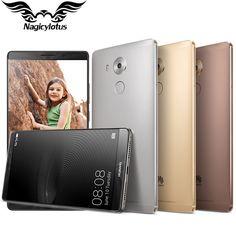 "Original HUAWEI Mate 8 Mobile Phone Kirin 950 Octa Core 6.0""  4GB RAM 64GB ROM FDD-LTE Dual SIM Fingerprint 1920*1080px 16.0MP"