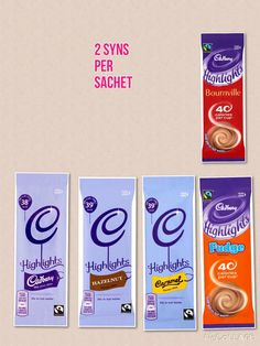 Cadburys Highlights - Syn value on Slimming World More