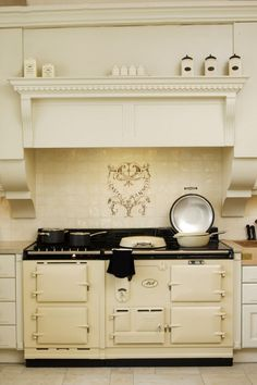 AGA cooker....I bet my cooking would improve tremendously if I had one of these to use
