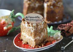Безумно вкусный, нежный и очень полезный морковный торт с грецкими орехами.  Ингредиенты: Морковь: 150 г. Масло растительное: 15 мл. Мука ц/з пшеничная: 200 г. Яйцо