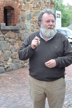 Rockford founder and winemaker, Robert O'Callaghan.