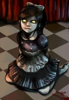 little sisters of Bioshock. Bioshock Game, Bioshock Series, Sisters Art, Little Sisters, Little Sister Cosplay, Creepy Little Girl, Gamers Anime, Bioshock Infinite, Nerd Art