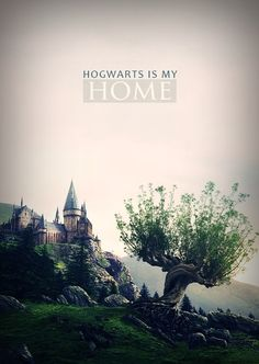 hogwarts is my home.