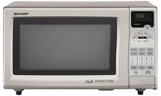 Images of Sharp Cu. Countertop Microwave Oven with 900 Cooking Watts & Grill 2 Convection Cooking in Stainless Steel Microwave Grill, Microwave Drawer, Countertop Microwave Oven, Kitchen Tools, Kitchen Appliances, Convection Cooking, Tv Panel, Audio System, Countertops