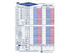Printable Yahtzee Score Sheets | Triple Yahtzee Scorecards ,Mukwonago,  Wisconsin, United States,