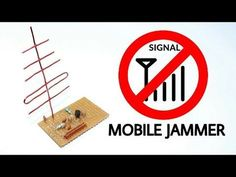 Mobile Signal Jammer | How to make Mobile jammer using only one transistor - YouTube