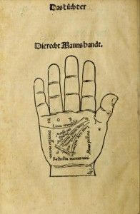 Vintage Palmistry Illustration
