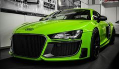 Audi | R8 I love the color and all around awesome look of this car.