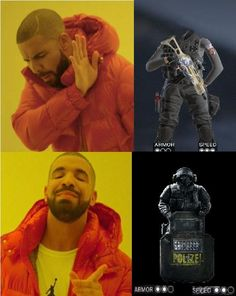 Rainbow six siege's operation Chimera in a nutshell. Rainbow 6 Seige, Rainbow Six Siege Memes, Tom Clancy's Rainbow Six, Video Game Art, Video Games, Fps Games, Video Game Industry, Just A Game, Girls Frontline