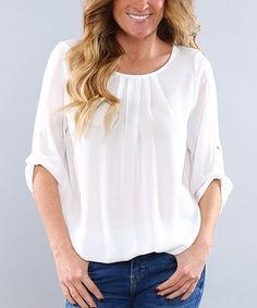 White Rylie Tunic