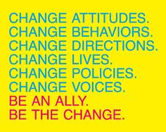 Make our world a better place with every action you take!