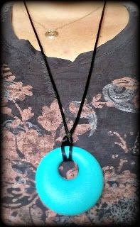 Another greet teether, Beabies Round Teething Necklace! For mama's & babies! #teethingjewelry #teethingbaby
