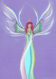 Angelina  get your own intuitive angel drawing from www.angelsco.nl ♥