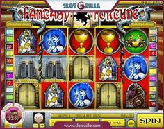 Take a journey to the world of fantasy!   Check out a slot machine powered by Rival and called Fantasy Fortune. A young charming princess confined in the castle and guarded by a fire-spewing dragon awaits you.