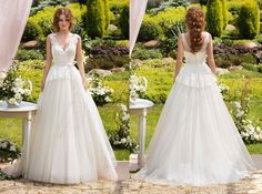 """Vintage-inspired ball gown from Papilio """"Sole Mio"""" bridal collection - www.papilioboutique.com"""