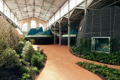 : langarita-navarro arquitectos : Transformación de la Nave 15 de Matadero como sede de la RBMA Madrid, 2011