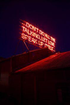 neon truth.