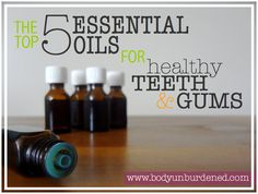 These 5 essential oils naturally keep teeth and gums healthy!**