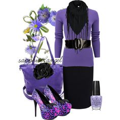 """Love it, but without the nail polish...""""Untitled #519"""" by sapphire-angel on Polyvore"""