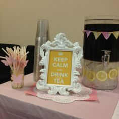 Southern bell baby shower...sweet tea's a must!