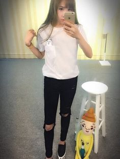 2017 Summer T-shirt Women Casual Lady Top Tees Cotton Tshirt Female Br – Enso Store