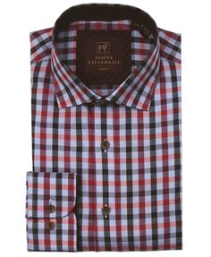 JTW6633-Wine from James Tattersall Clothing