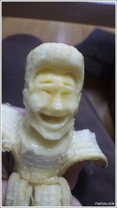 Banana Art (awesome!)