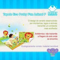 Tapete Eco Proby Fun Animal  O design do cenário desenvolvido por montanhas, lagos e animais transmite um ambiente mais acolhedor.  Disponível em 4 tamanhos, preço acessível, Tudo por você!!   Mais detalhes em www.proby.com.br