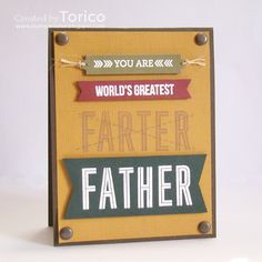 """It's time for a new Naughty or Nice Challenge , everyone! As Father's day is coming soon, our challenge theme is """"Men/Dad"""" . Create a card/. Mother And Father, Mothers, Fathers Day Cards, Cool Cards, Stampin Up Cards, I Card, Dads, Challenges, Nice"""