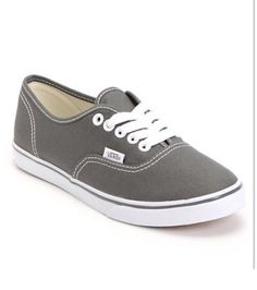 b84e72fec581 Vans Girls Authentic Lo Pro Pewter Shoe at Zumiez   PDP I want these so  flippin bad!