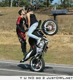 Pretty cool bike stunt