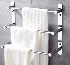 36.59$ Watch now - https://alitems.com/g/1e8d114494b01f4c715516525dc3e8/?i=5&ulp=https%3A%2F%2Fwww.aliexpress.com%2Fitem%2FModern-304-Stainless-Steel-Towel-Ladder-Towel-Rack-3-layers-bathroom-shelf-Wall-Mounted-Bathroom-Accessories%2F32728120938.html - Modern 304 Stainless Steel Towel Bar/Towel Rack 3 layers bathroom shelf Wall Mounted Bathroom Accessories 38/48/58cm