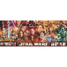 Ravensburger - Jigsaw Puzzle - 1000 Pieces - Panoramic - Star Wars : Panorama of the Saga - Jigsaw Puzzle Road